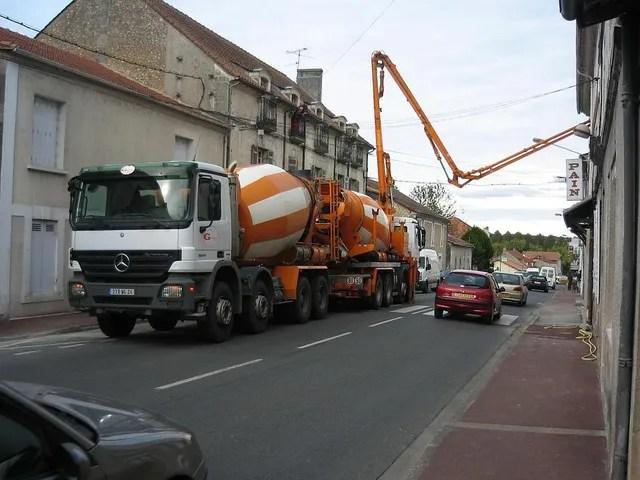 livraison de beton pres de libourne