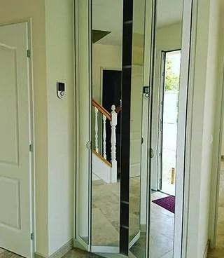 portes de placard pliantes sur mesure a