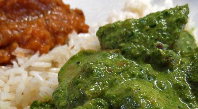 Aloo Palak: Una Receta India Vegetariana de Espinaca, Papas y Crema
