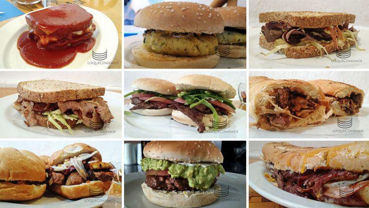 Curso de sandwiches en Cuenca: algo de lo preparado