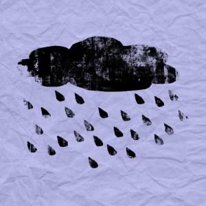 nuage noir juin sous la pluie