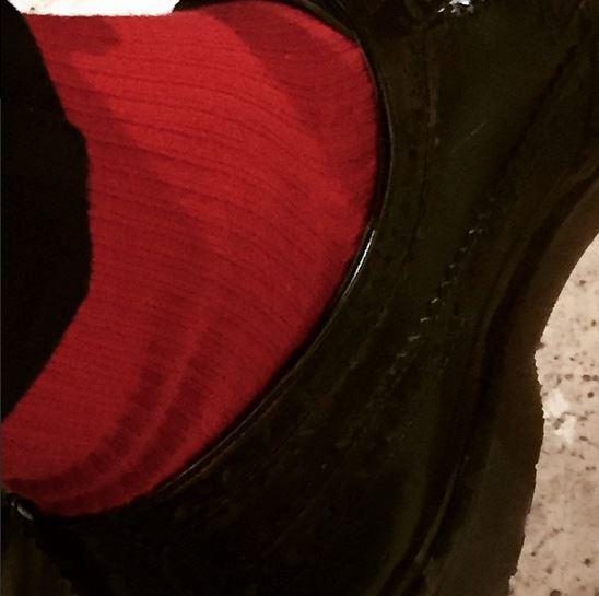 Get yo lucky red socks on!