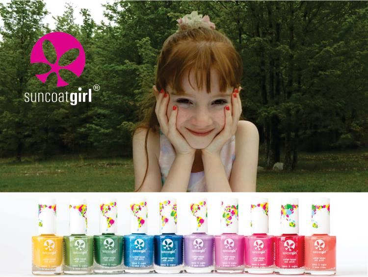 De nouveaux vernis à ongles naturels pour vos enfants !