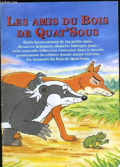Les Animaux Du Bois De Quat'sous Télécharger : animaux, quat'sous, télécharger, Animaux, Sous., Collectif.