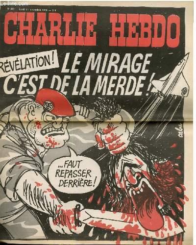 C Est De La Merde : merde, CHARLIE, HEBDO, N°208, REVELATION, MIRAGE, MERDE, REPASSER, DERRIERE, CAVANA, CHORON..., Achat, Livres, ROD0070207, Le-livre.fr