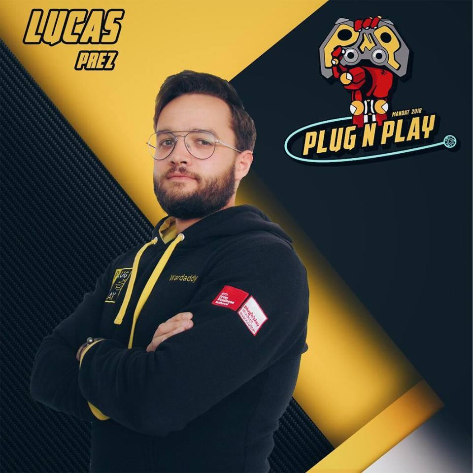 Read more about the article Rencontre avec Lucas Lion, président Plug'n'Play Mandat 2018