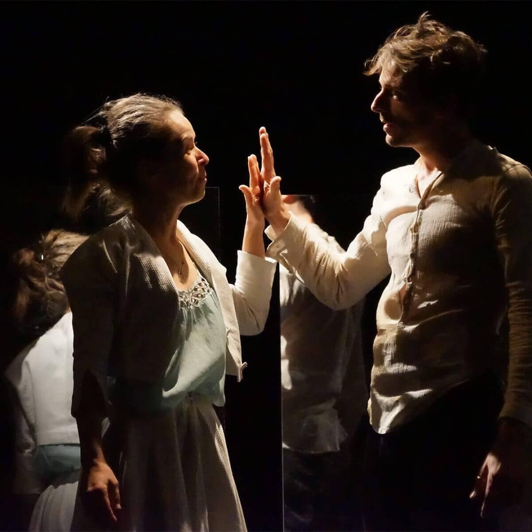 Yoann Fayolle dans le rôle de Roméo