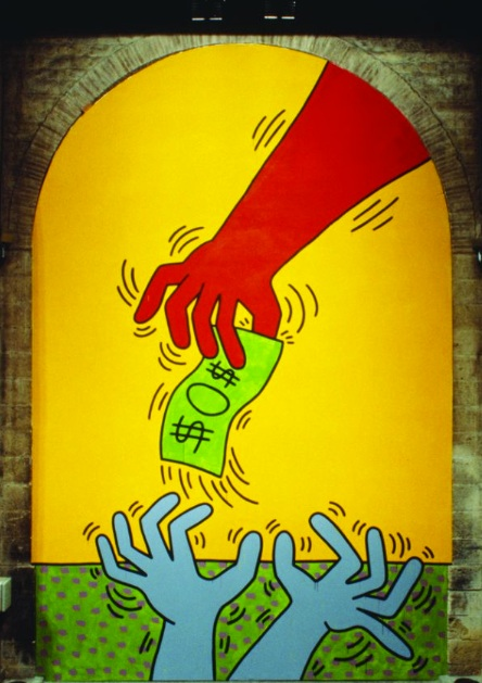 Keith Haring, les 10 commandements, table 4
