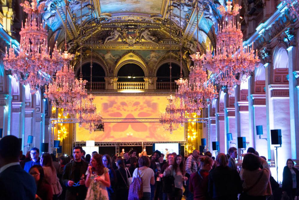 Cérémonie des Golden Blog Awards 2014, Hôtel de Ville de Paris © Carlos Tello pour LMEN