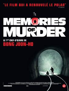 Memories of Murder, Bong Joon-Ho (affiche 2017)