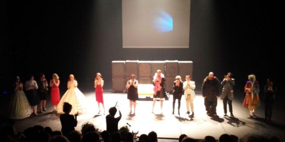 """""""Histoire de familles"""", représentation de la troupe amateur de la Scène Sénart (3 juin 2017)"""