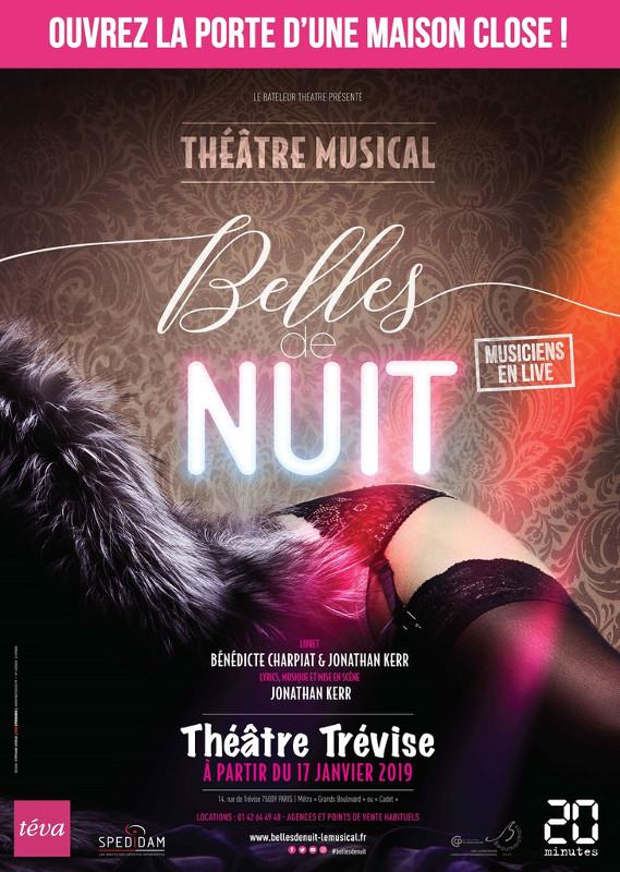 """Affiche """"Belles de Nuit"""" © KB Studios paris"""