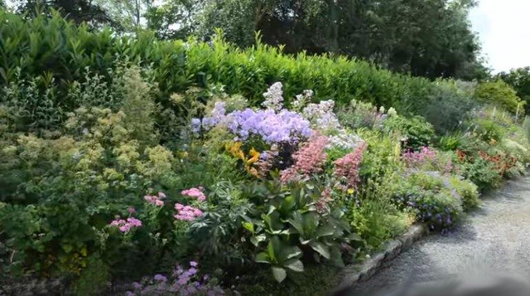 un jardin anglais