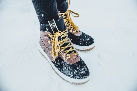 Nike Air Force 1 lunar Duckboot