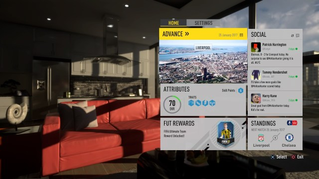 FIFA 17 The Journey In Menus 1 - FIFA 17 - The Journey