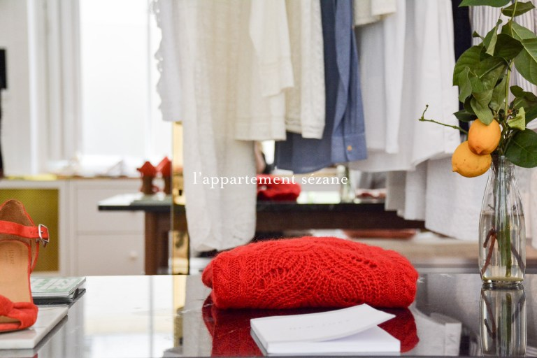 appartement sezane paris mode