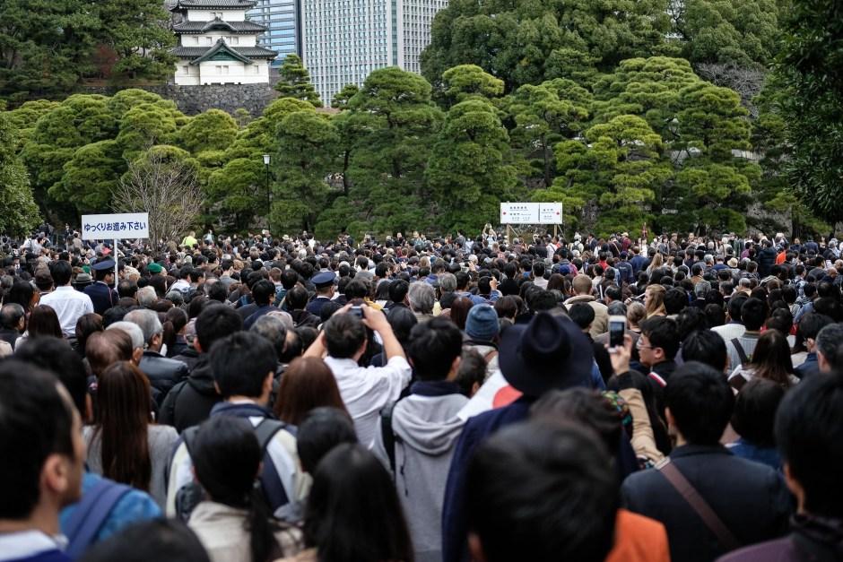 voyage tokyo voir empereur palais imperial