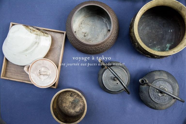 voyage tokyo brocante oedo market