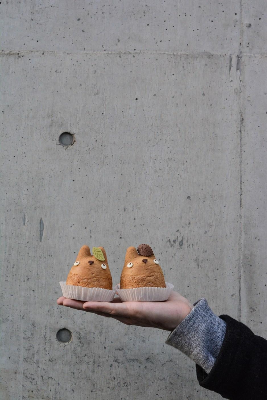 voyage tokyo nourriture kawaii shiro hige totoro