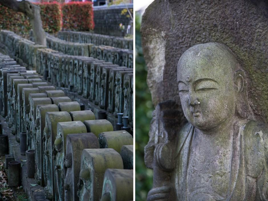 Le temple de Jyomyoiin dans le quartier de Yanaka à Tokyo