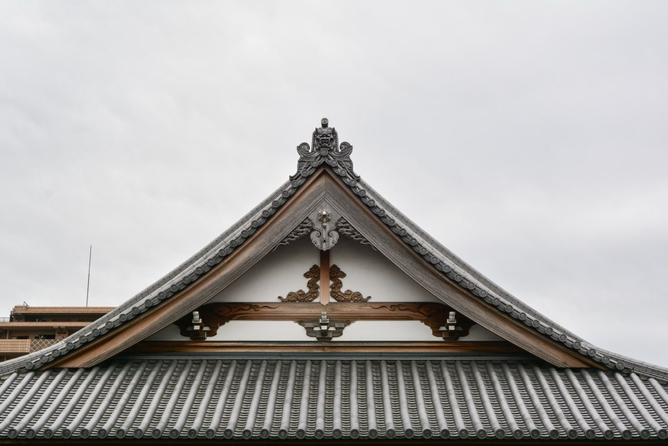 un temple dans le quartier de Yanaka à Tokyo