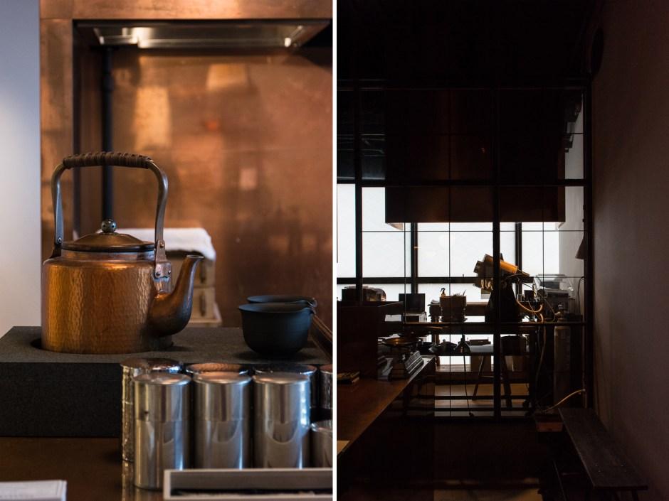 Dégustation de thés à Tokyo à Sakurai Tea Experience