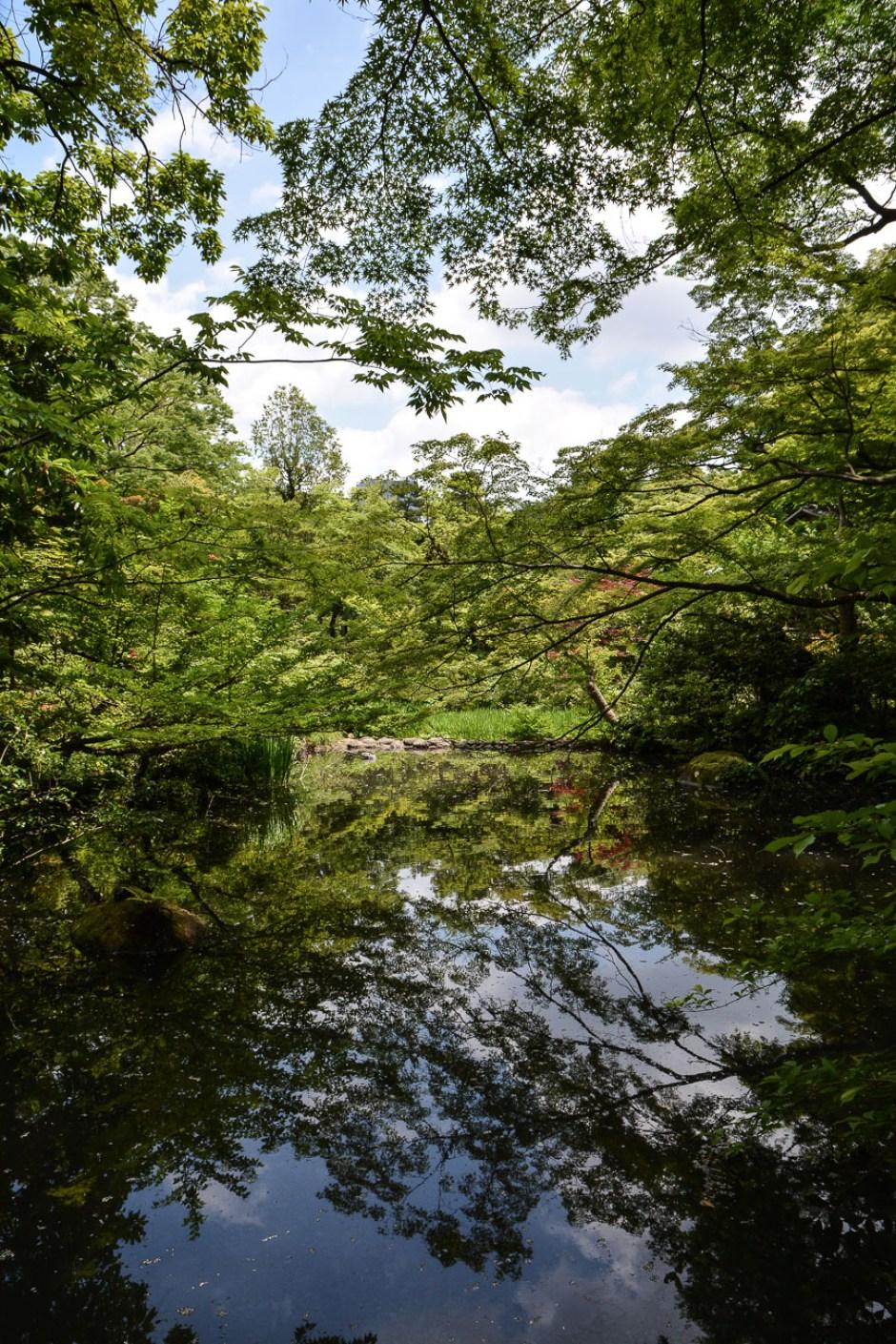 Le jardin du musée Nezu par Kengo Kuma à Tokyo