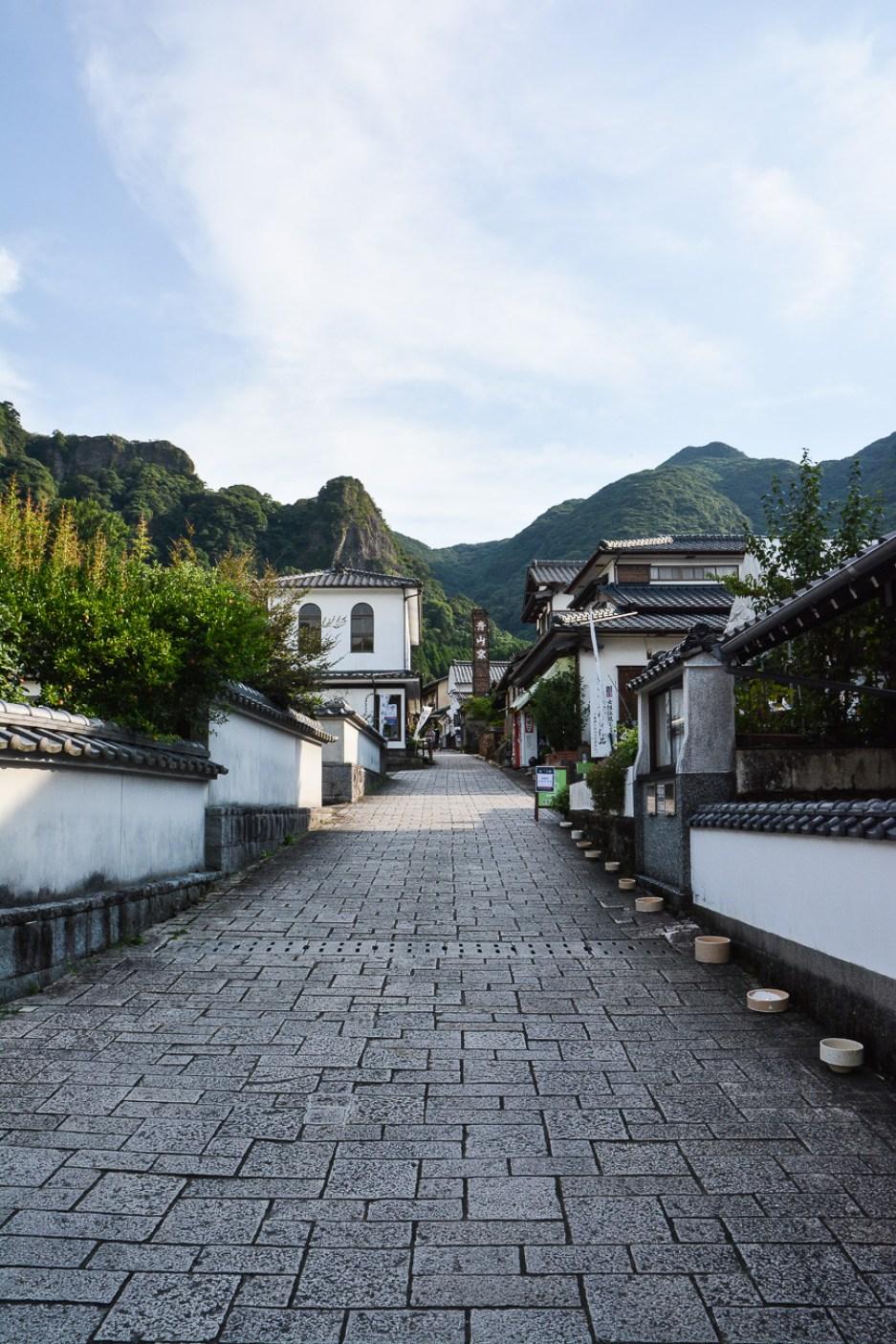 village de potiers de Okawachiyama à saga sur l'île de Kyushu au Japon