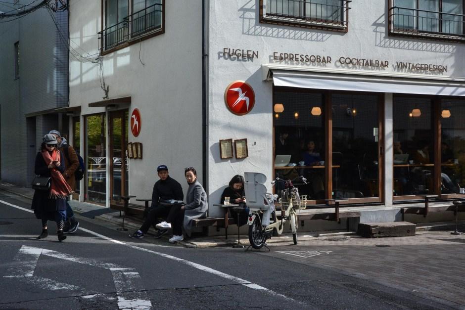 le coffeeshop Fuglen à tokyo au Japon