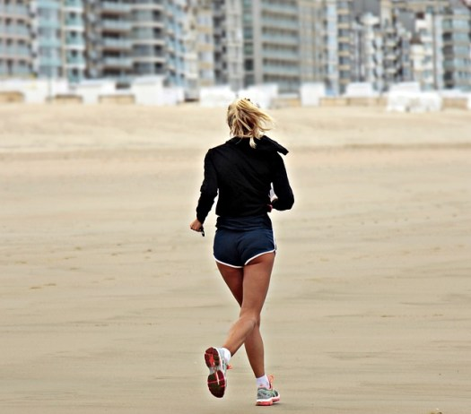 jogging plage