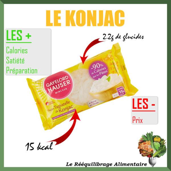 konjac aide à perdre du poids