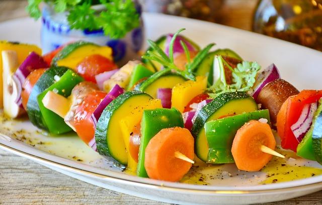 les légumes font perdre du poids