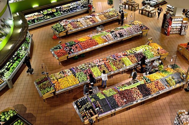 légumes supermarché