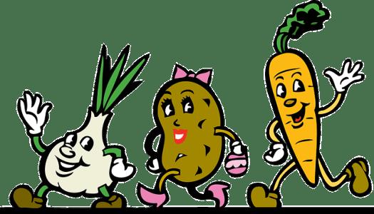 dessin de légumes