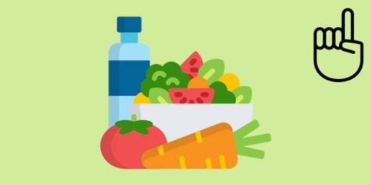 les calories dans un rééquilibrage alimentaire