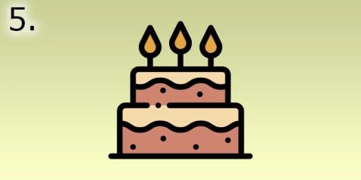 gâteau d'anniversaire rééquilibrage alimentaire