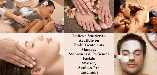 April Spa Specials - Series