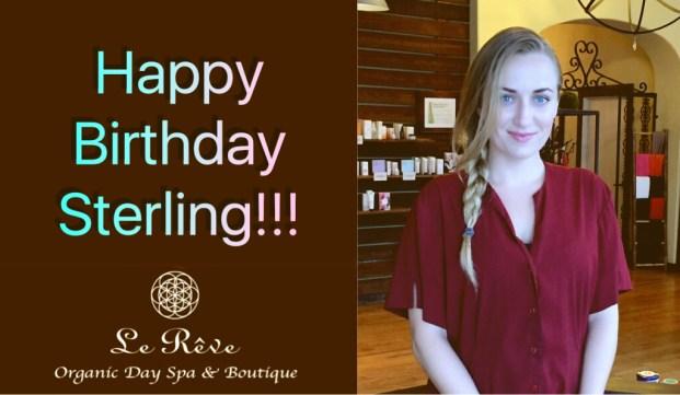 Celebrating our Birthday Girl - Happy Birthday Santa Barbara - Le Reve Spa