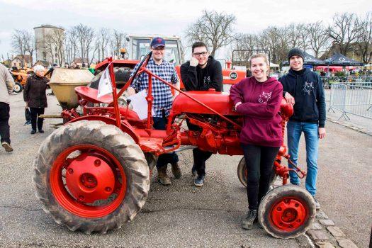 Les élèves de BTS du Robillard présentent leurs PIC à la Foire de Printemps de Saint-Pierre-en-Auge