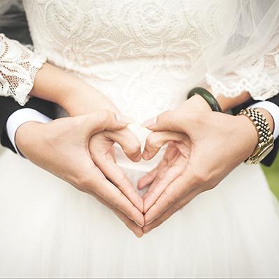 coeur mariés