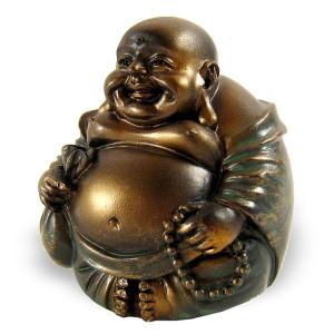 porte bonheur chinois le bouddha rieur pour attirer la chance