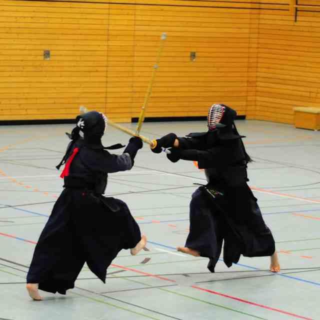 combat de kendo et concentration