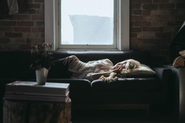 fatigue, canapé