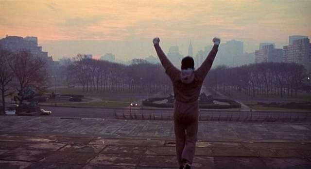 Rocky Balboa - Entraînement des marches