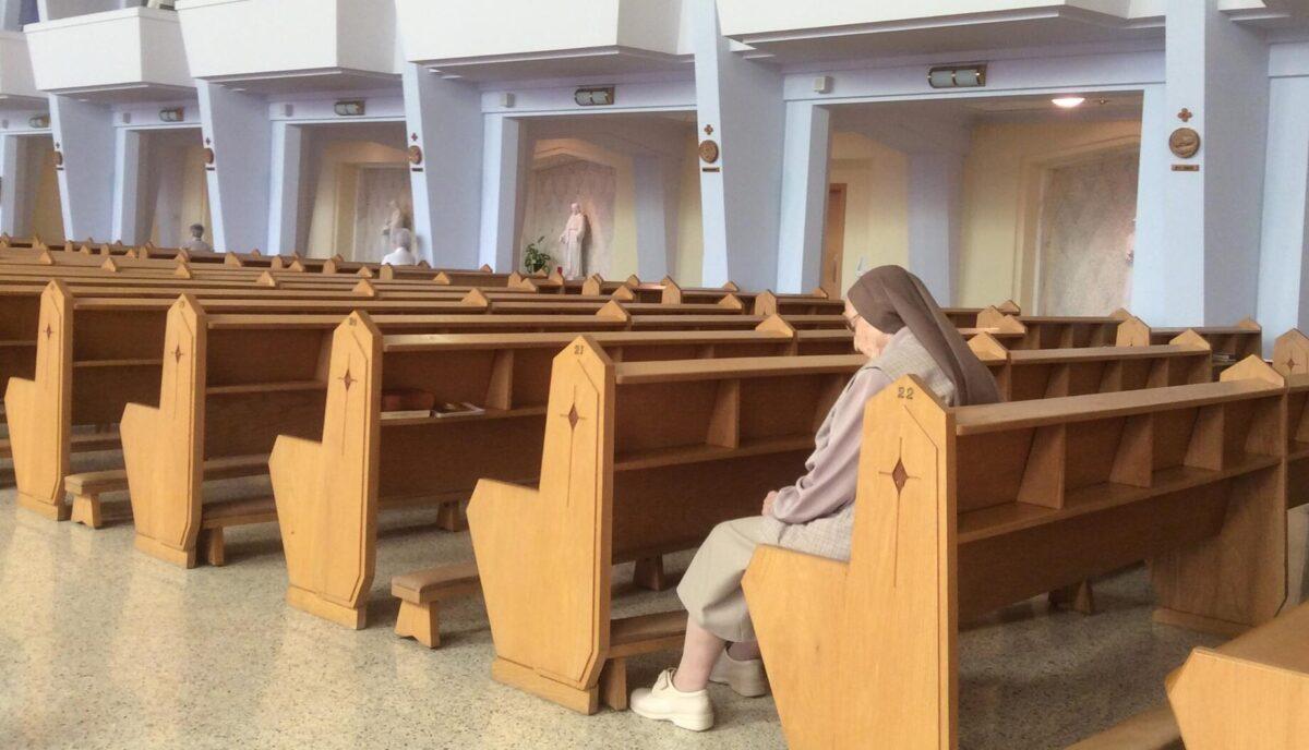 Religieuses au cœur de la pandémie: isolées, mais pas seules