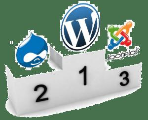 CMS : Joomla, WordPress, Drupal