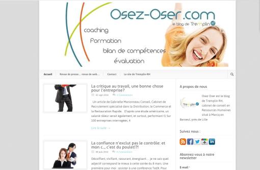 Blog Osez oser