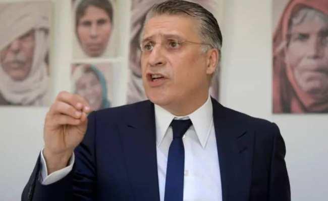 القروي يعلن فوز حزبه بتشريعات تونس