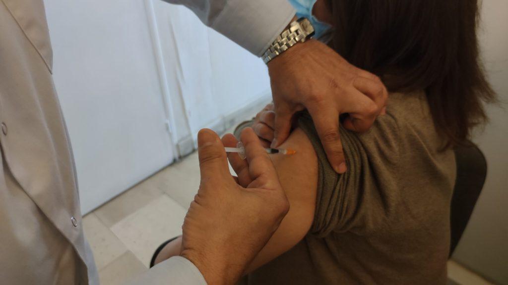 Vaccination le 2 mars 2021, chez un médecin traitant de Marseille