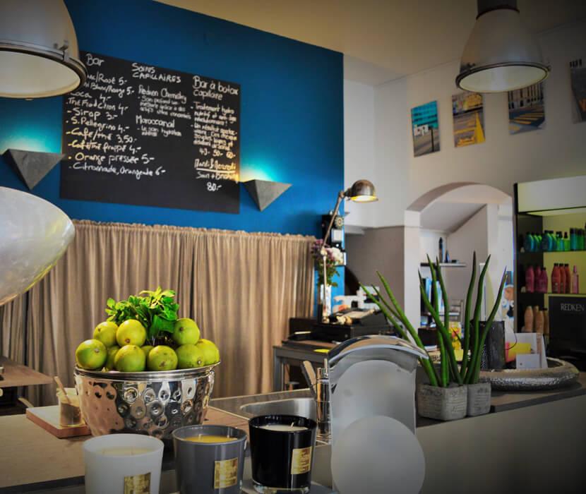 Salon de coiffure et bar concept store aux Eaux Vives  Genve